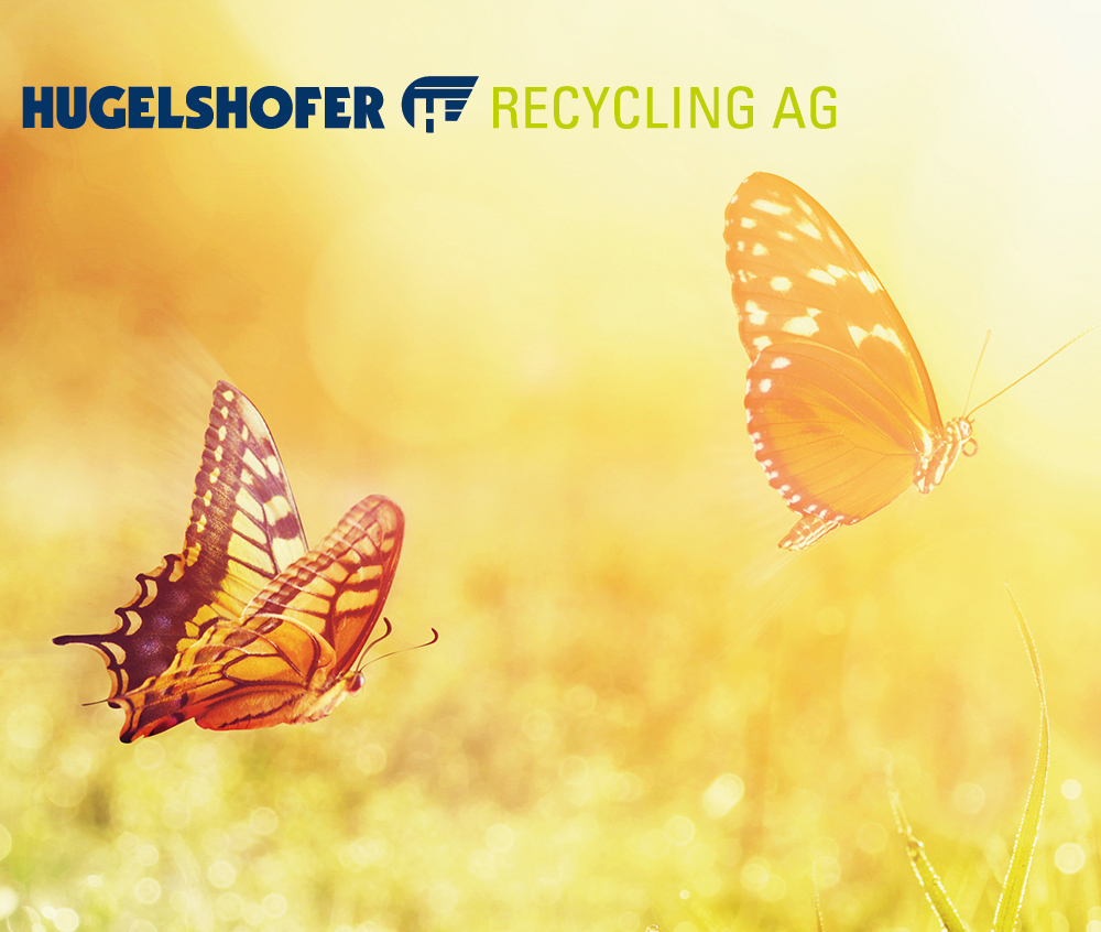 Homepage Hugelshofer Recycling AG